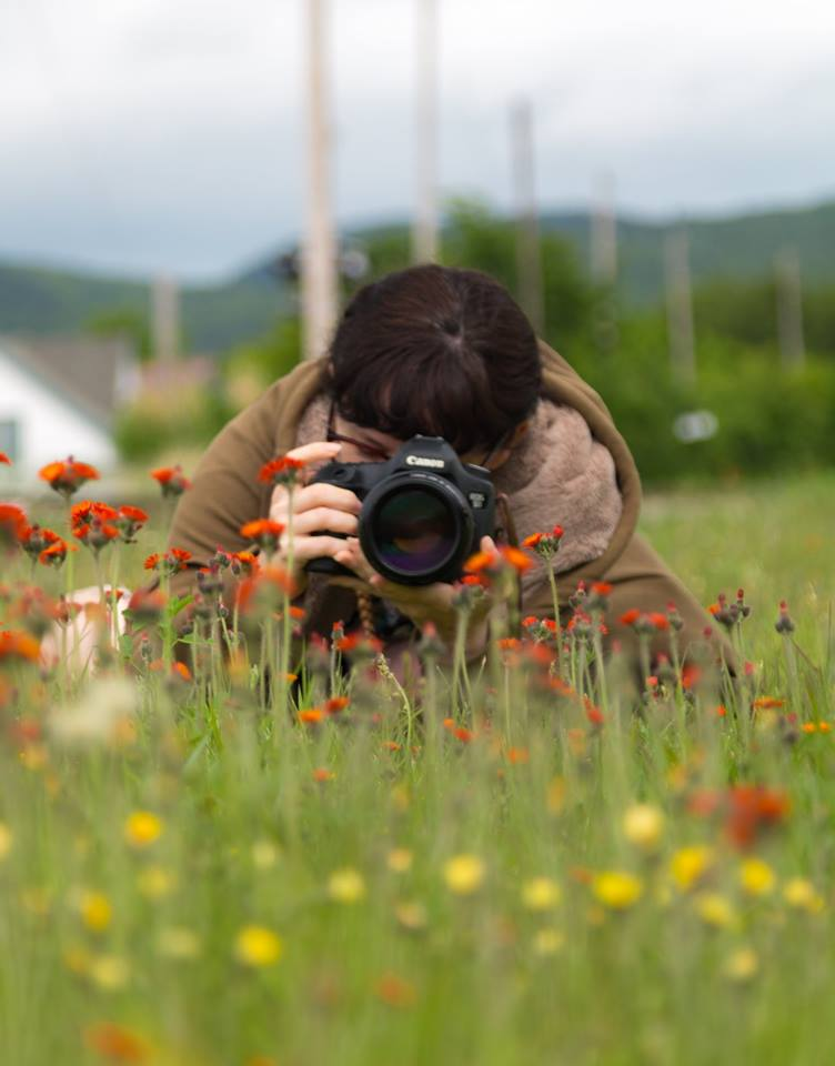Photographer Hiding in the Grass