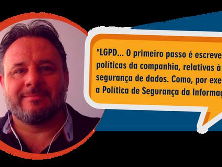 Adequar-se à LGPD não é fácil e não é rápido.