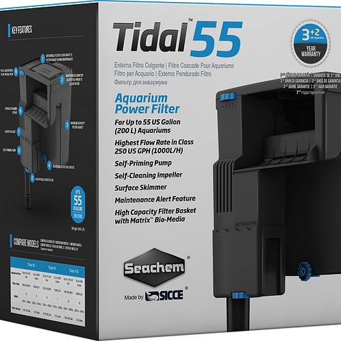 Seachem Tidal 55