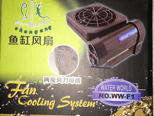 Cooling fan single