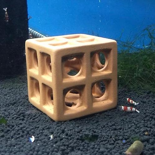 Ceramic Shrimp Cube F-1077