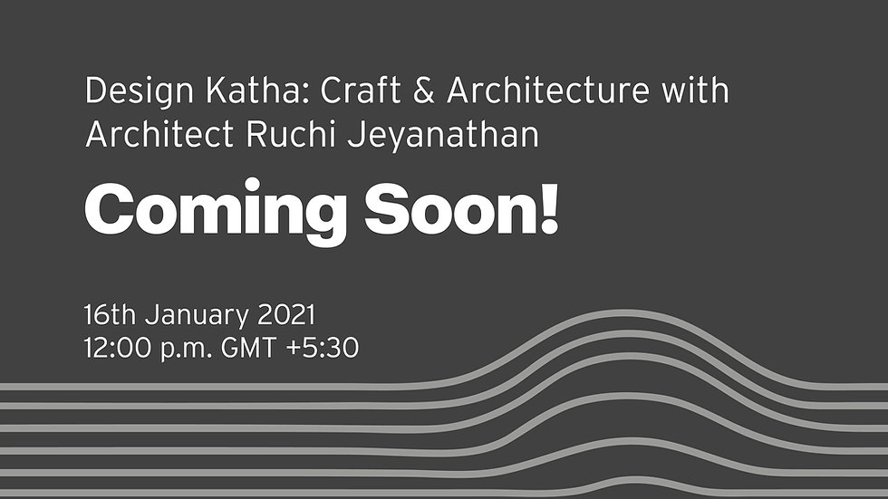 Design Katha- Craft & Architecture with