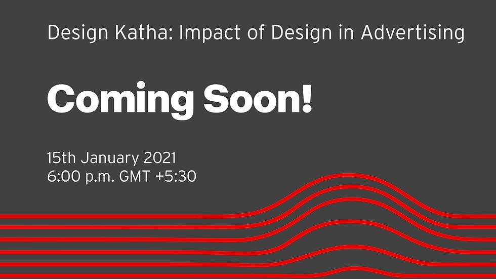Design Katha- Impact of Design in Advert