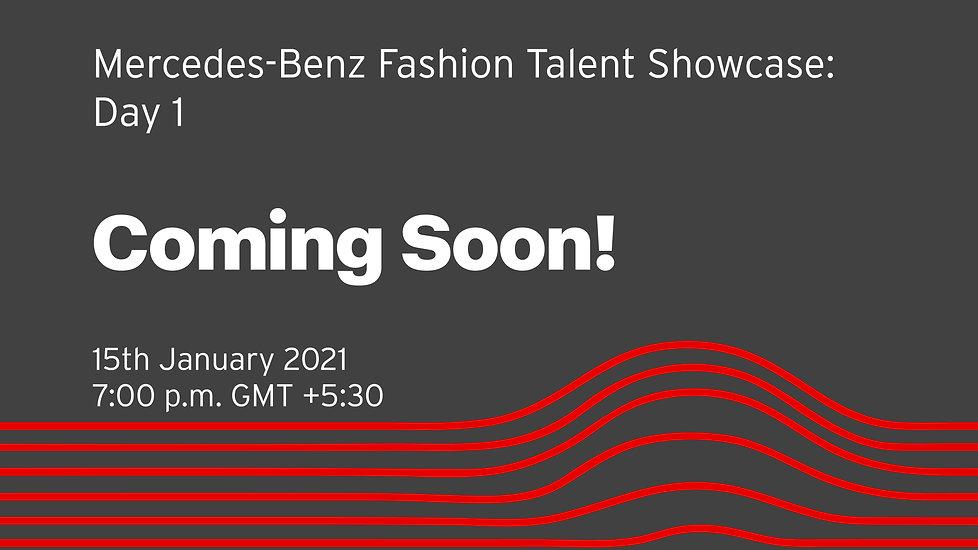 Mercedes-Benz Fashion Talent Showcase- D