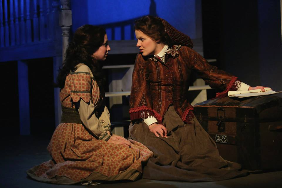Jo in Little Women