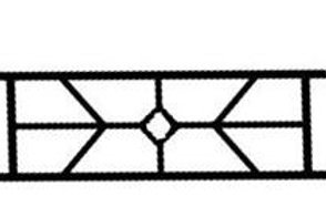 775  Super Bob Express Fence ( 12 Pieces )