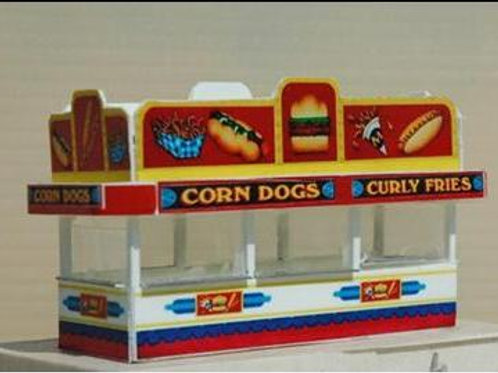 152 Curley Fries Stand