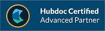 Hubdoc Certified Advanced Partner Logo.J
