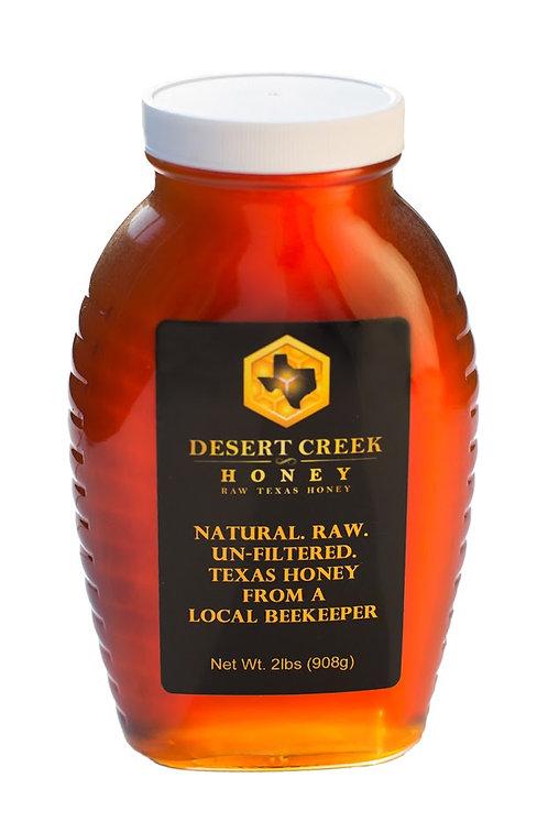 Raw Honey 2lb Glass Jar