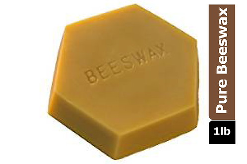 Natural Beeswax, 1 lb