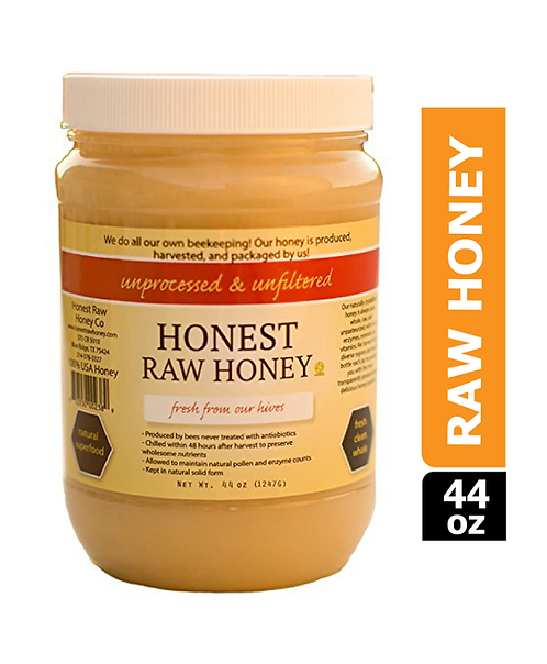 Honest Raw Honey, 44oz