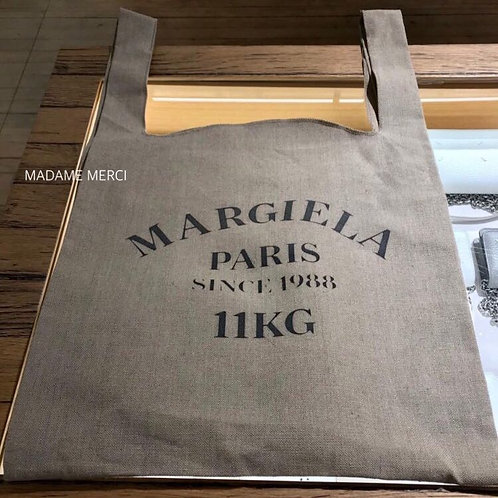【Maison Margiela】XL linen tote bag