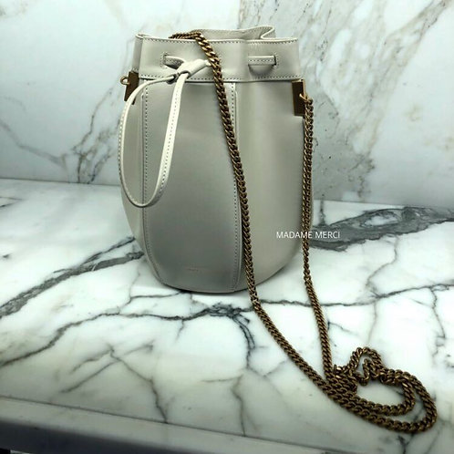 【Saint Laurent】Talitha small Bucket bag × chain