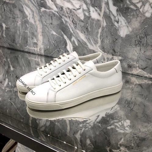 【Saint Laurent】ANDY SNEAKERS × LEATHER
