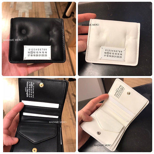 【Maison Margiela】Glam Slam Snap wallet