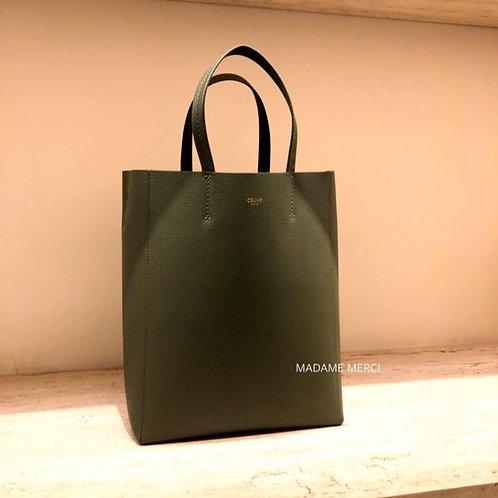 【CELINE】Small Model grained calfskin shopping bag