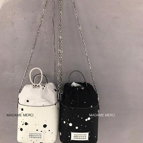 【Maison Margiela】5AC Painted bucket bag