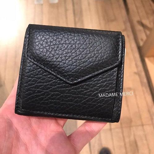 【Maison Margiela】Trifold leather wallet