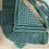 Thumbnail: תיק צד מקרמה קולקציית פרנזים דגם ירוק טורקיזי