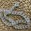 Thumbnail: רצועה משלימה לתיקי צד ממקרמה- שקוף ריינבו