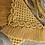 Thumbnail: תיק צד מקרמה קולקציית פרנזים דגם צהוב חרדלי