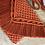 Thumbnail: תיק צד מקרמה קולקציית פרנזים דגם אדום כתום אש