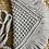 Thumbnail: תיק צד מקרמה קולקציית פרנזים דגם אפור בהיר