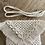 Thumbnail: תיק צד מקרמה קולקציית פרנזים דגם שמנת לבנה