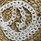 Thumbnail: רצועה משלימה לתיקי צד ממקרמה- לבן שיש
