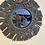 Thumbnail: מראת מקרמה פרנזים בצבע אפור משגע!
