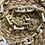 Thumbnail: רצועה משלימה לתיקי צד ממקרמה- חום קאמל שיש