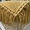 Thumbnail: תיק צד מקרמה דגם double צהוב בננה