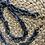 Thumbnail: רצועה משלימה לתיקי צד ממקרמה- אפור שיש