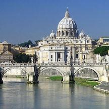 Roma---Veduta-della-Basilica-di-San-Piet