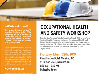 Occupational Health an Saftey Workshop