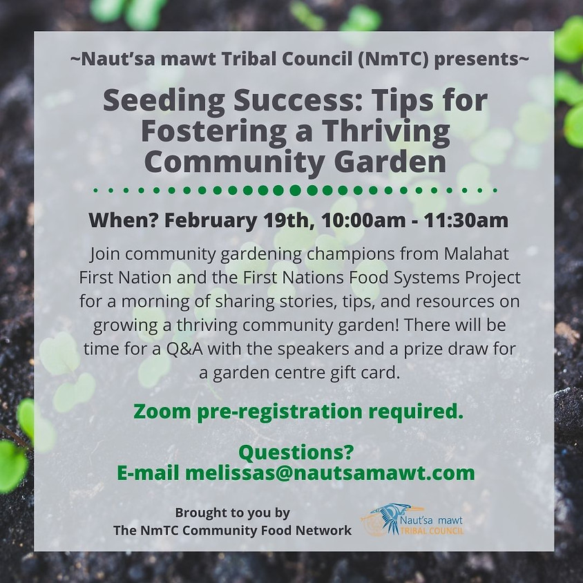Seeding Success: Tips for Fostering a Thriving Community Garden