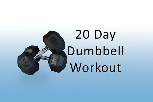 20 Dumbbell Workouts