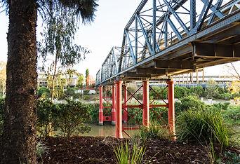 Kim Johnston - Bremer River Rail Bridge.