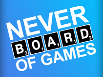 Never Board of Games - Logo Design