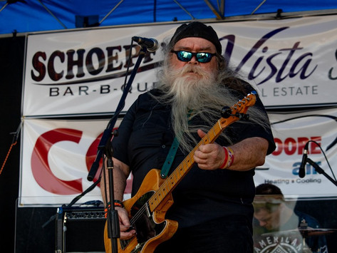 Featured Artist - Jay White and the Blues Commanders