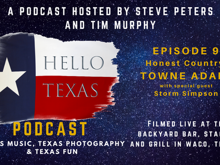 Podcast - Episode 9 - Honest Country (Towne Adams)