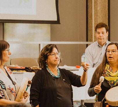 Wholistic Healing Conference - OISE University of Toronto, Kathy Absolon, Jo-Anne Absolon, Lana Brasher