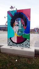 Faces of Regent Park - Community Art, Image by Dan Bergeron, Flick1