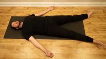 Yoga Savashana Posture