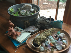 Nature Counseling Office Alter