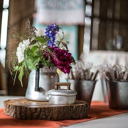 Flowers centerpiece