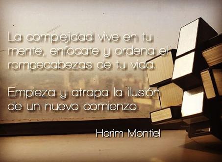 """""""La importancia de la visión de futuro en la vida personal, familiar y laboral."""" Harim Montiel."""