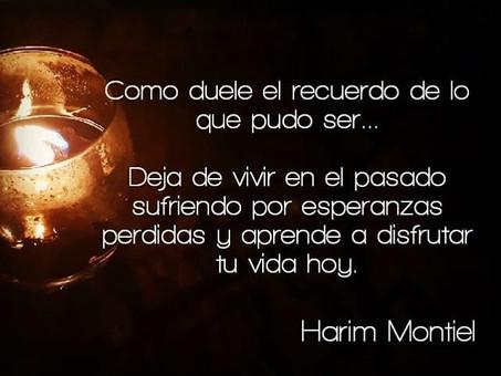 """""""Vivamos los cambios, dejemos el miedo y corramos para vivir."""" Harim Montiel"""