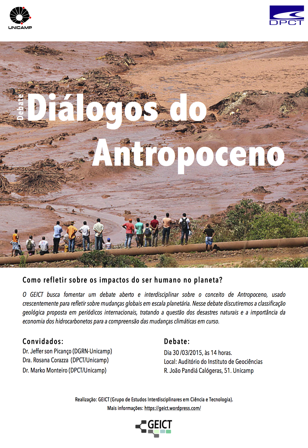 The Anthropocene Dialogues, 2016