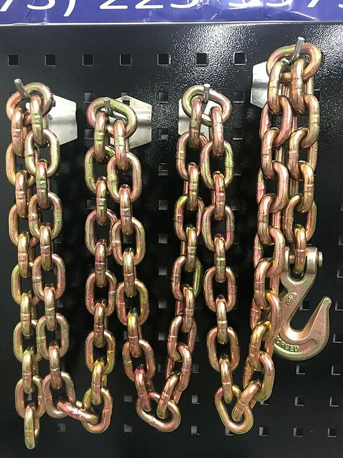 8 ft Long Chain with Grab Hook